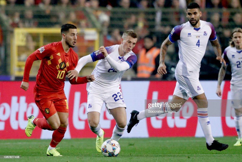 Belgium  v Iceland  -UEFA Nations league : News Photo