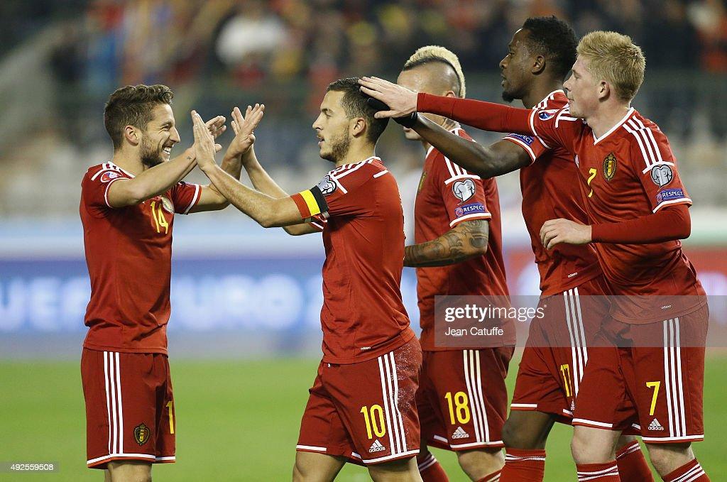 Belgium v Israel - UEFA EURO 2016 Qualifier : News Photo