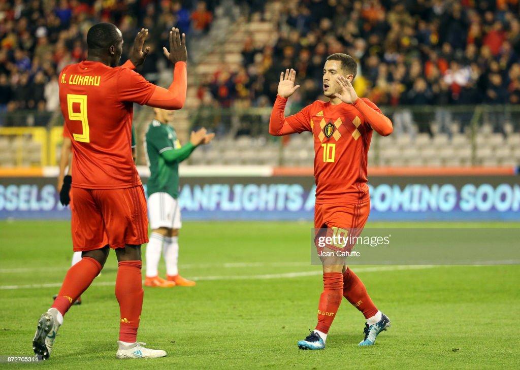 Belgium v Mexico - International Friendly : Nieuwsfoto's