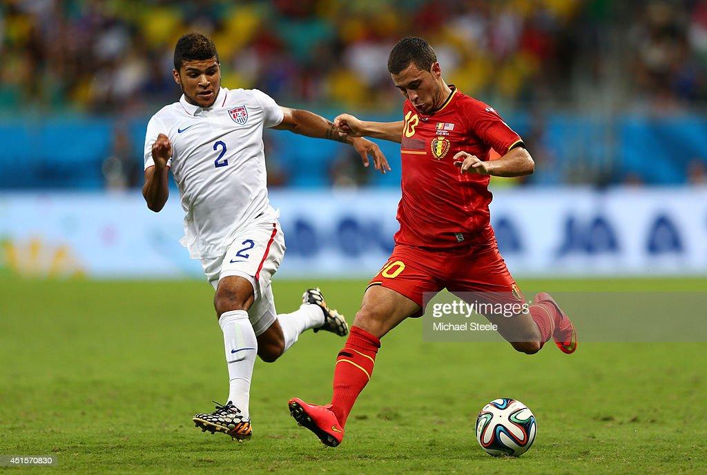 Belgium v USA: Round of 16 - 2014 FIFA World Cup Brazil : News Photo