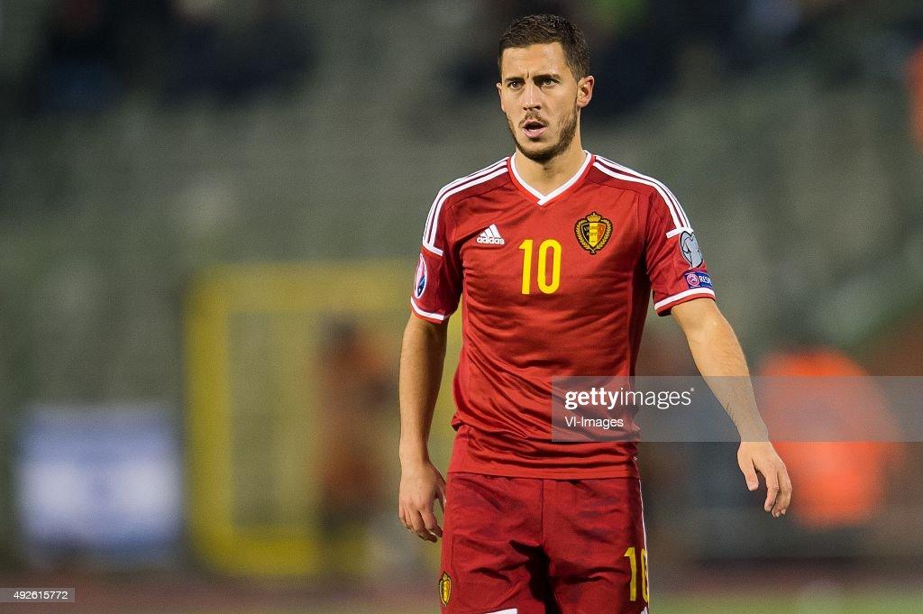 "EURO 2016 qualifier - ""Belgium v Israel"" : News Photo"