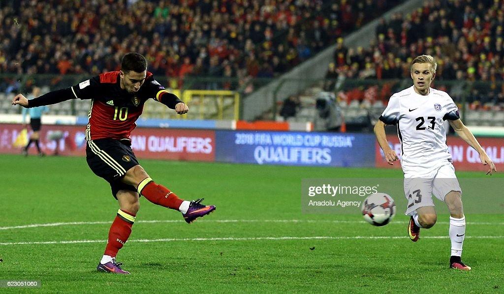 Belgium v Estonia - FIFA 2018 World Cup Qualifier : News Photo