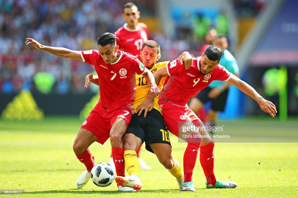 Belgium v Tunisia: Group G - 2018 FIFA World Cup Russia : News Photo
