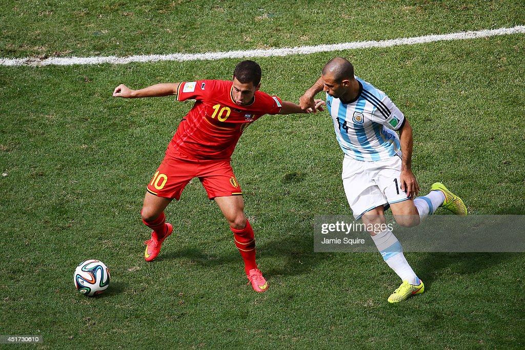 Argentina v Belgium: Quarter Final - 2014 FIFA World Cup Brazil : News Photo