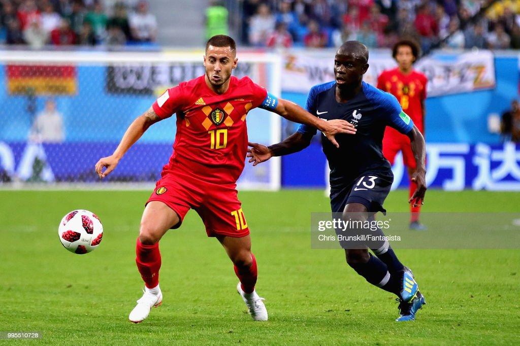Belgium v France: Semi Final - 2018 FIFA World Cup Russia : ニュース写真