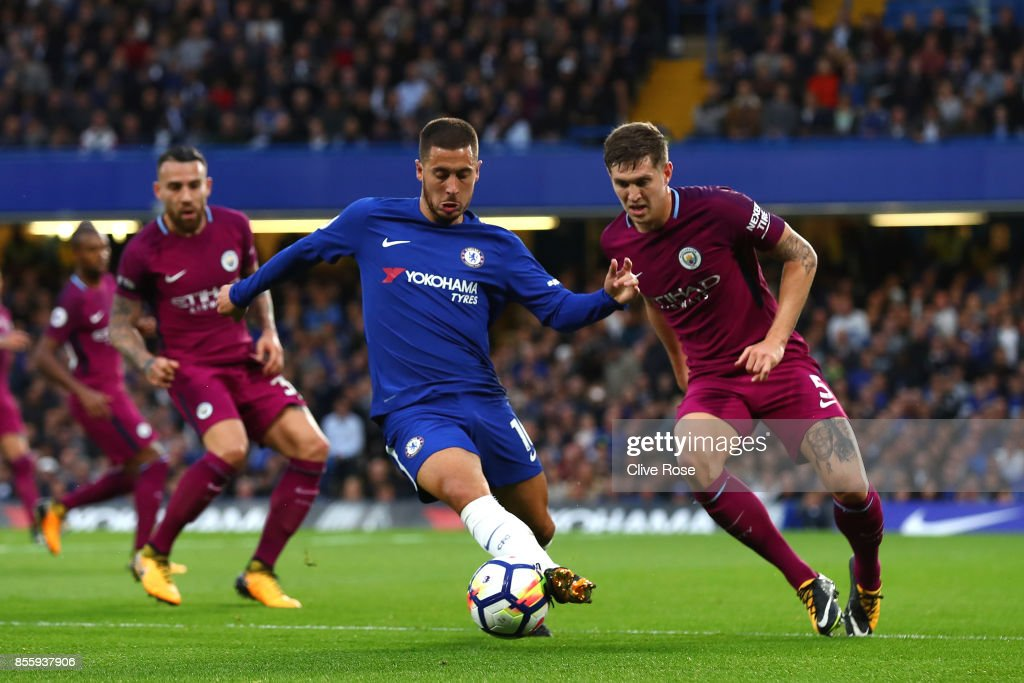 Chelsea v Manchester City - Premier League : Fotografía de noticias