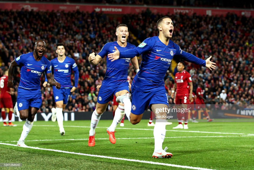 Liverpool v Chelsea - Carabao Cup Third Round : News Photo