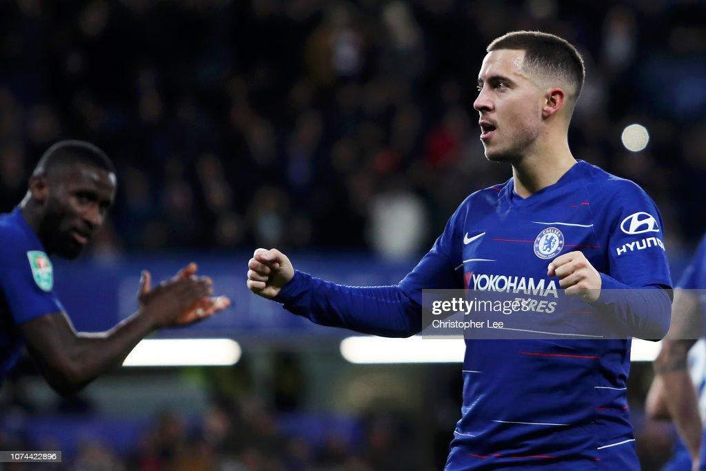 Chelsea v AFC Bournemouth - Carabao Cup: Quarter Final : News Photo
