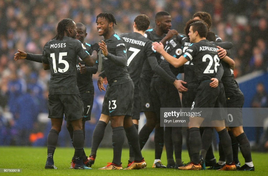 Brighton and Hove Albion v Chelsea - Premier League : Nachrichtenfoto