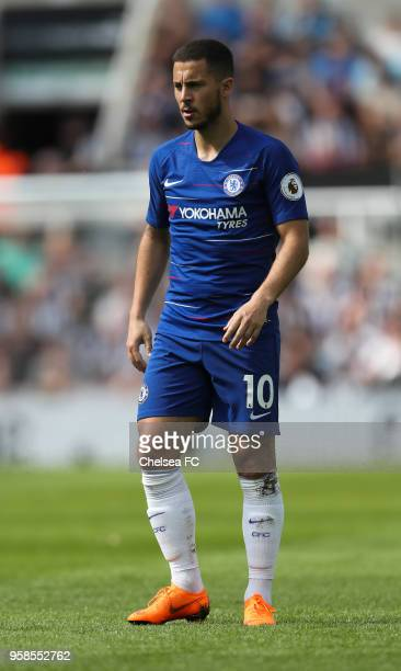 Eden Hazard of Chelsea during the Premier League match between Newcastle United and Chelsea at St James Park on May 13 2018 in Newcastle upon Tyne...