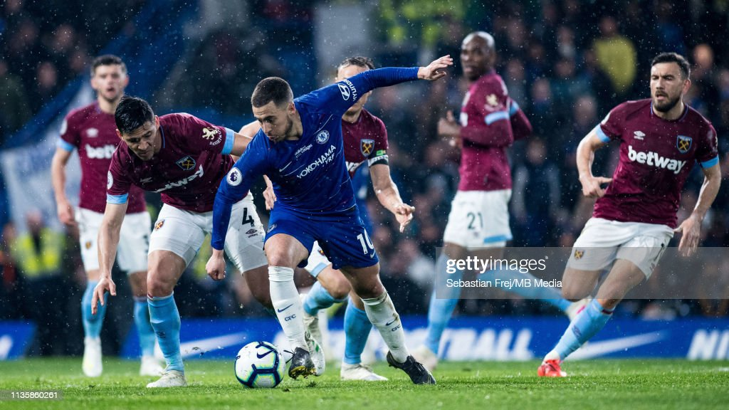Chelsea FC v West Ham United - Premier League : News Photo