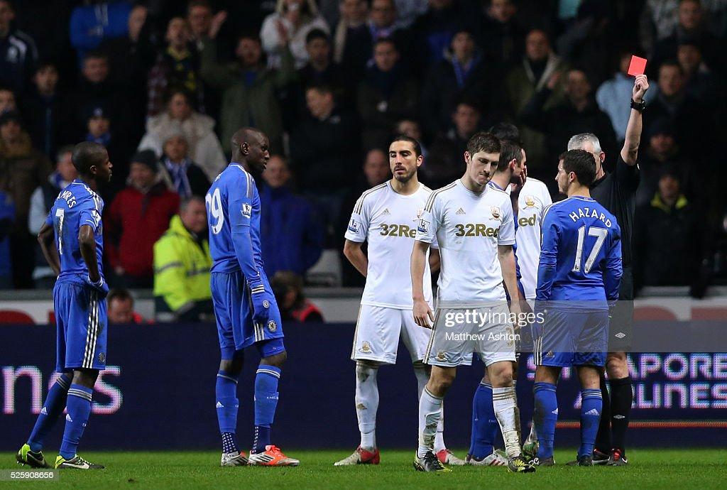 Soccer : Football League Cup - Capital One - Semi Final Second Leg - Swansea City v Chelsea : News Photo