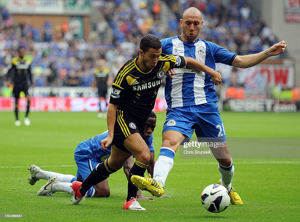 Wigan Athletic v Chelsea - Premier League : News Photo