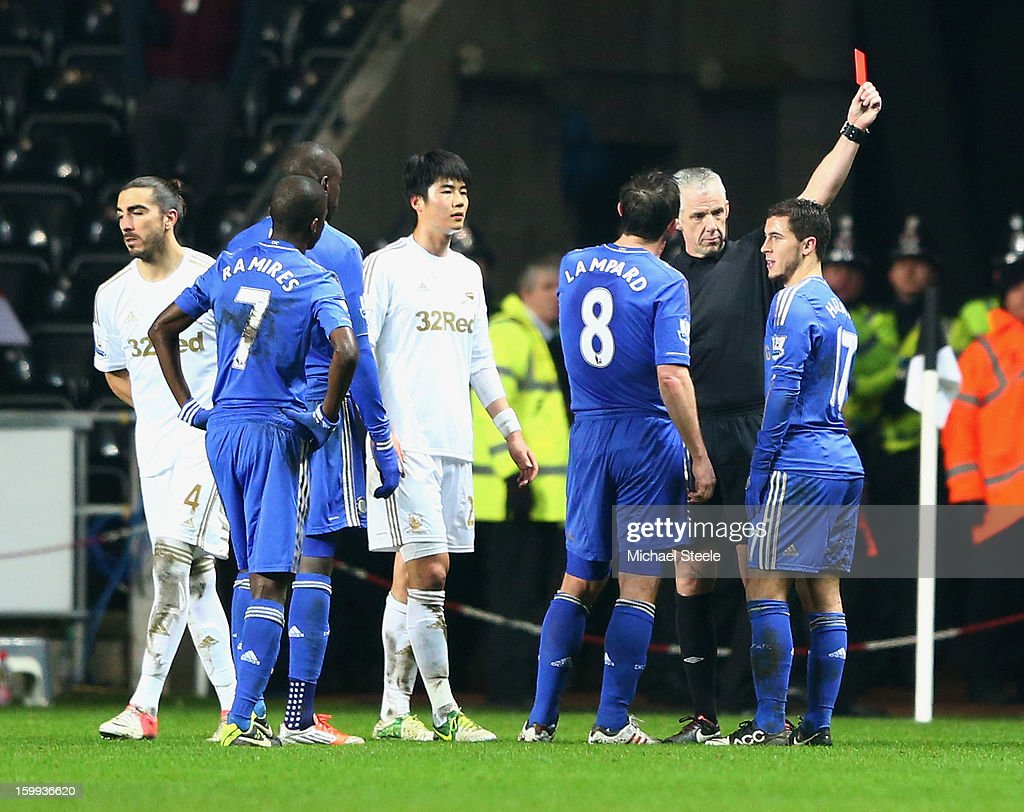 Swansea City v Chelsea - Capital One Cup Semi-Final Second Leg