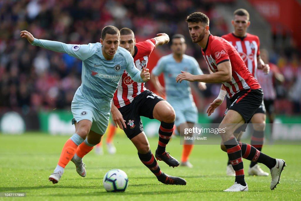 Southampton FC v Chelsea FC - Premier League : Nachrichtenfoto