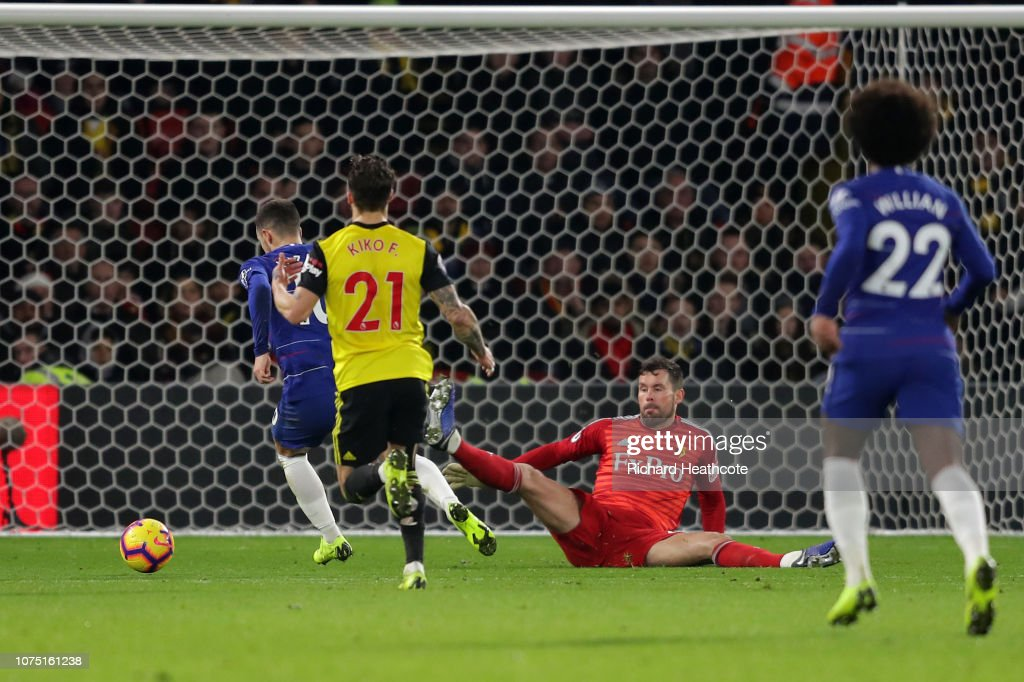 Watford FC v Chelsea FC - Premier League : News Photo
