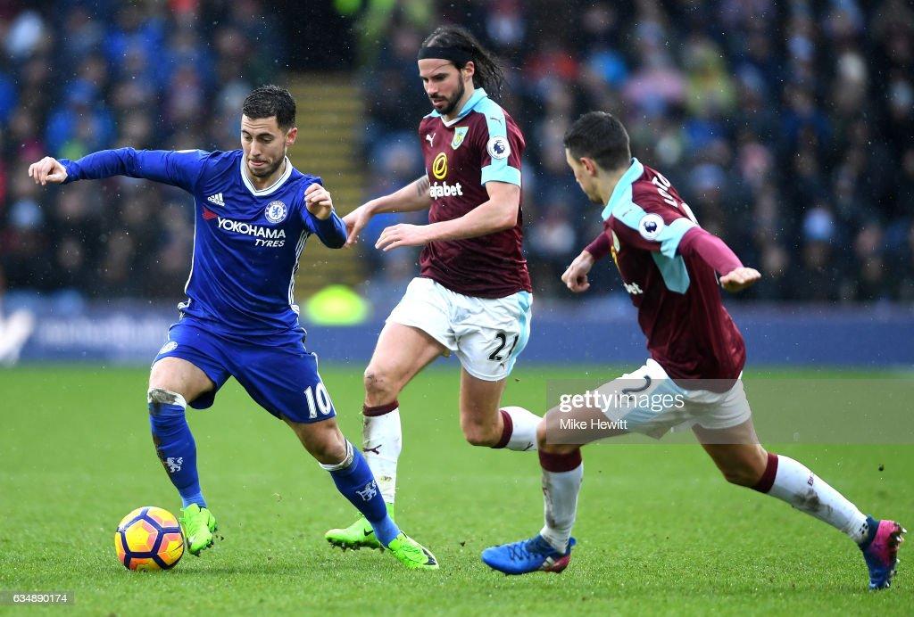 Burnley v Chelsea - Premier League : ニュース写真