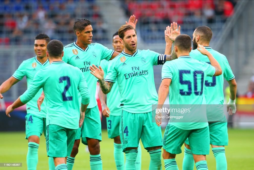 RB Salzburg v Real Madrid - Pre-Season Friendly : News Photo