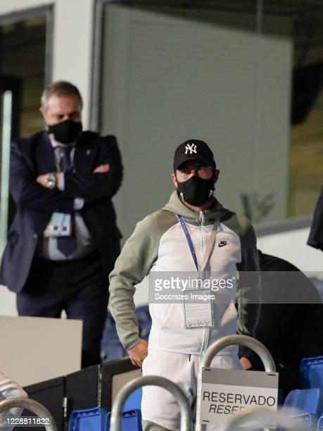 Eden Hazard of Real Madrid during the La Liga Santander match between Real Madrid v Real Valladolid at the Alfredo di Stefano Stadium on September...