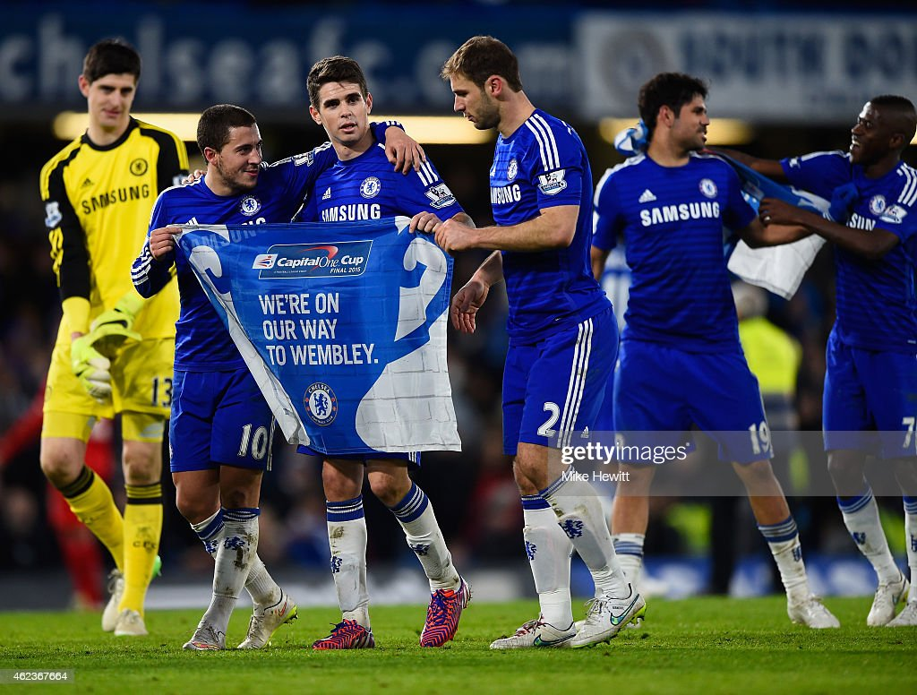 Chelsea v Liverpool - Capital One Cup Semi-Final: Second Leg : News Photo