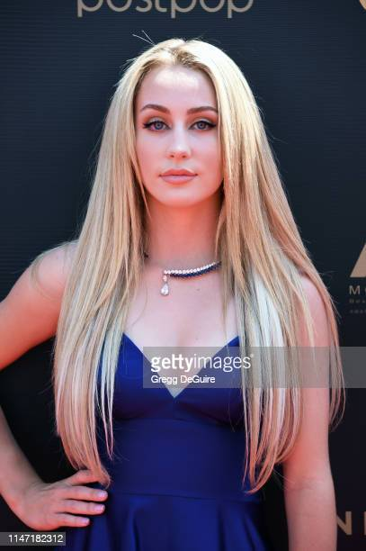 Eden McCoy attends the 46th annual Daytime Emmy Awards at Pasadena Civic Center on May 05 2019 in Pasadena California