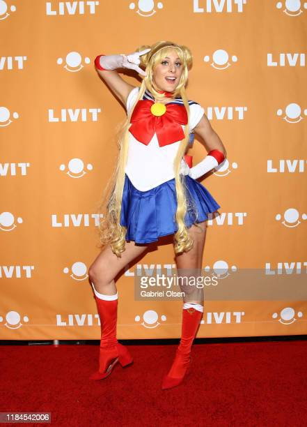 Eden Moore attends Trip 'R' Treat with LIVIT LA's Largest Live Streaming Competition on October 30 2019 in Hollywood California