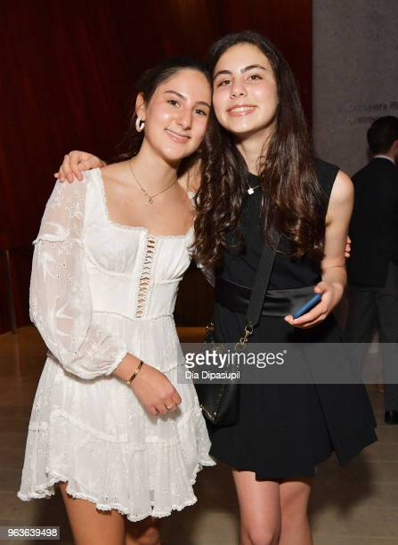 Eden Plepler and guest attend Lincoln Center's American Songbook Gala at Alice Tully Hall on May 29 2018 in New York City