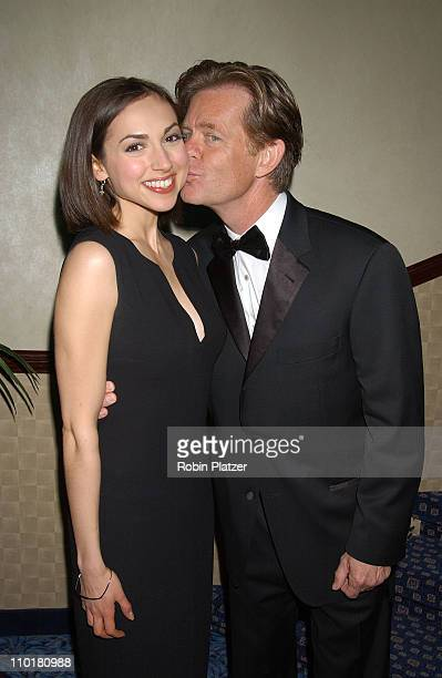 Eden Reigel and William H Macy during United Cerebral Palsy 48th Annual Awards Dinner at The Marriott Marquis in New York City New York United States