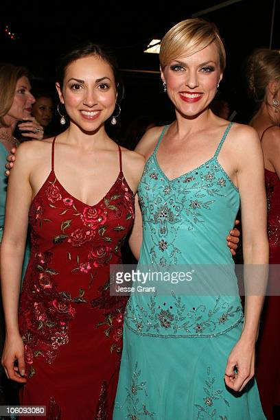 Eden Riegel and Elaine Hendrix during What a Pair 4 After Party at Western/LG Theatre in Los Angeles CA United States