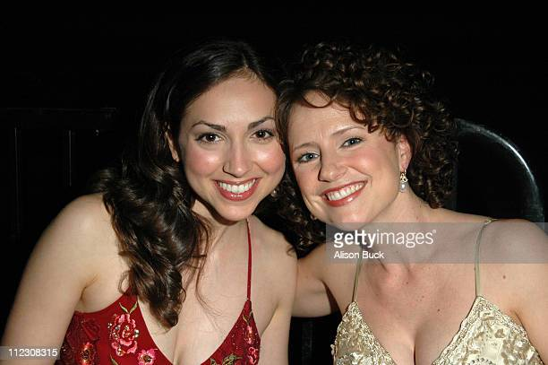 Eden Riegel and Jean Louisa Kelly during What a Pair 4 at The Willtern/LG Theatre in Los Angeles California United States