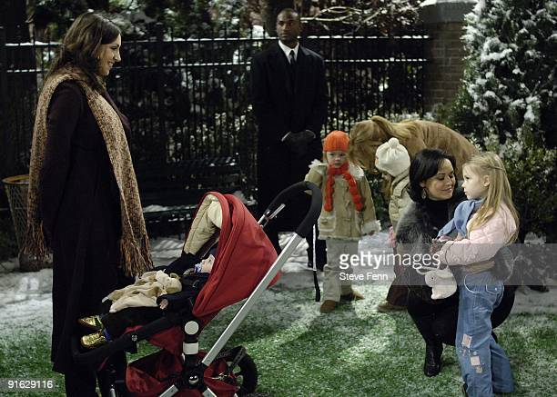 Eden Riegel Emma Annie Sydney Penny and Alexa Gerasimovich in a scene that airs the week of January 22 2007 on ABC Daytime's 'All My Children' 'All...