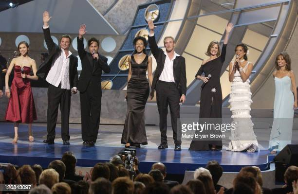 Eden Riegel Wally Kurth Paull Goldin Tamara Tunie Kyle Lowder Kassie DePaiva Eva La Rue and Susan Lucci sing the Love Medley