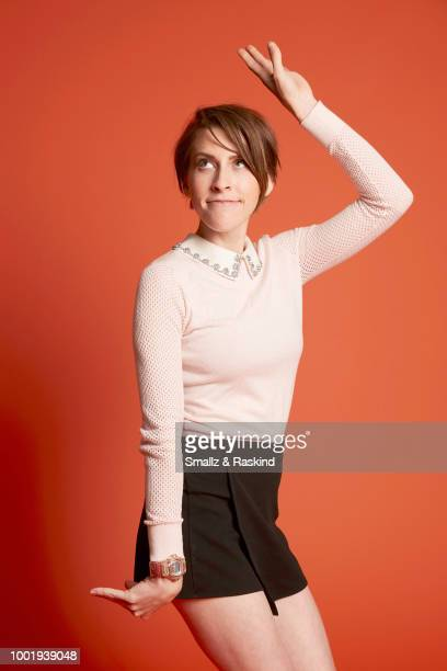Eden Sher from Disney XD's 'Star vs. The Forces of Evil' poses for a portrait in the Getty Images Portrait Studio powered by Pizza Hut at San Diego...