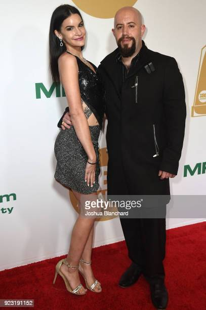 Eden Sin and Alejandro Freixes attend the 2018 XBIZ Awards on January 18 2018 in Los Angeles California