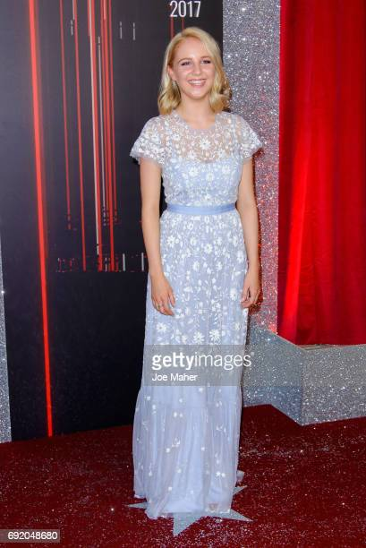 Eden Taylor-Draper attends the British Soap Awards at The Lowry Theatre on June 3, 2017 in Manchester, England.