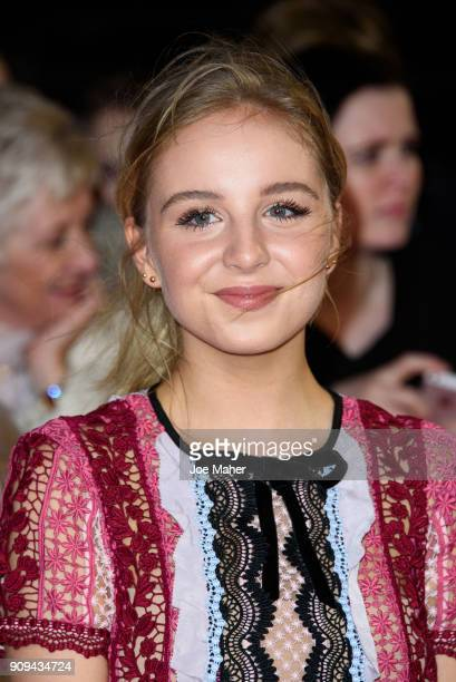 Eden TaylorDraper attends the National Television Awards 2018 at The O2 Arena on January 23 2018 in London England