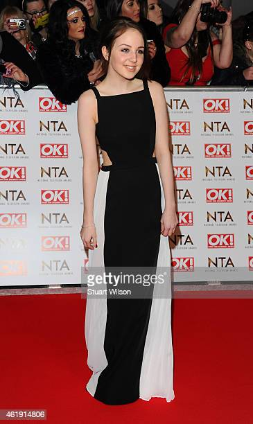 Eden Taylor-Draper attends the National Television Awards at 02 Arena on January 21, 2015 in London, England.
