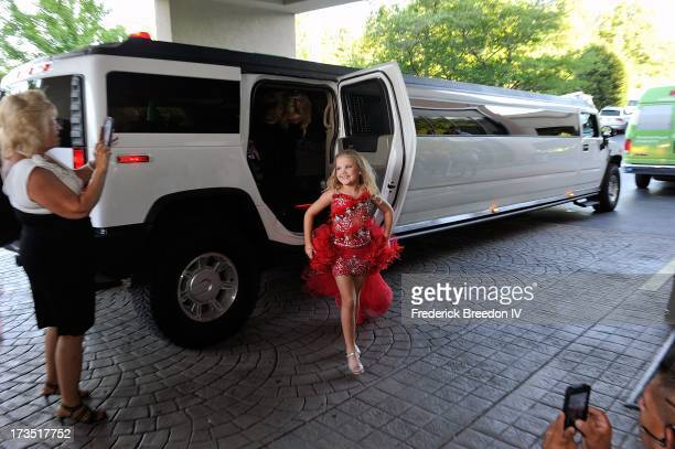 Eden Wood arrives at the First Annual Youth Excellence Awards at Holiday Inn Nashville Opryland Airport on July 15 2013 in Nashville Tennessee