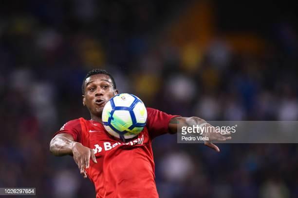 Edenílson of Internacional a match between Cruzeiro and Internacional as part of Brasileirao Series A 2018 at Mineirao stadium on September 2 2018 in...