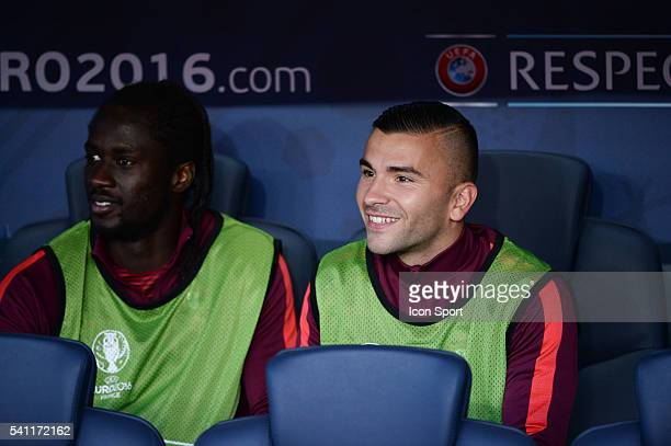 Eder and Anthony Lopes of Portugal during the UEFA EURO 2016 Group F match between Portugal and Austria at Parc des Princes on June 18 2016 in Paris...