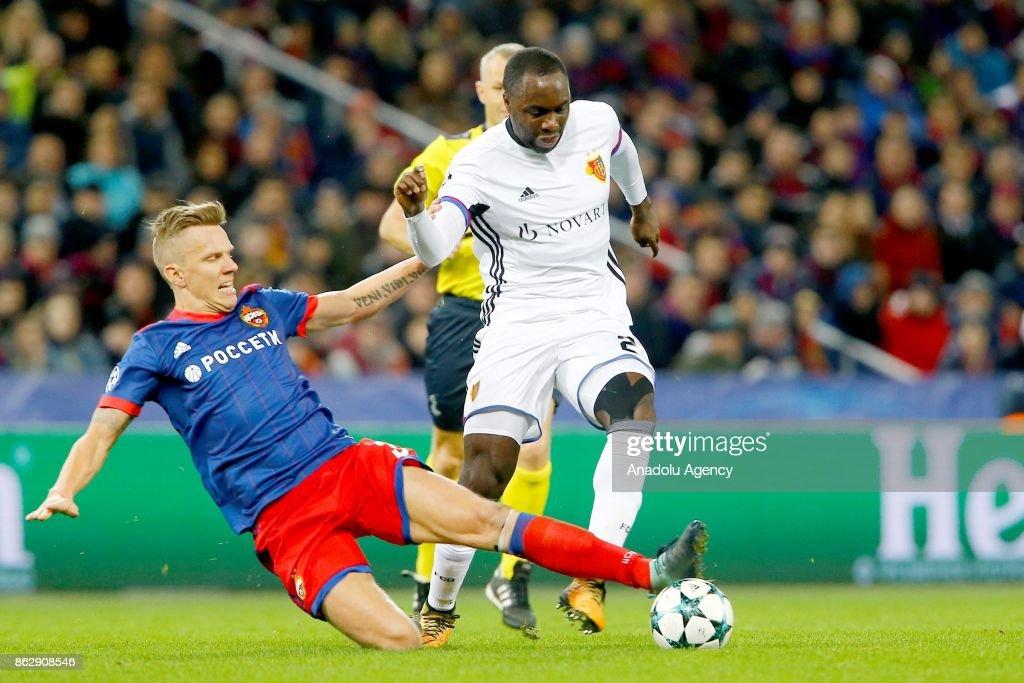 CSKA Moscow vs Basel : UEFA Champions League : News Photo