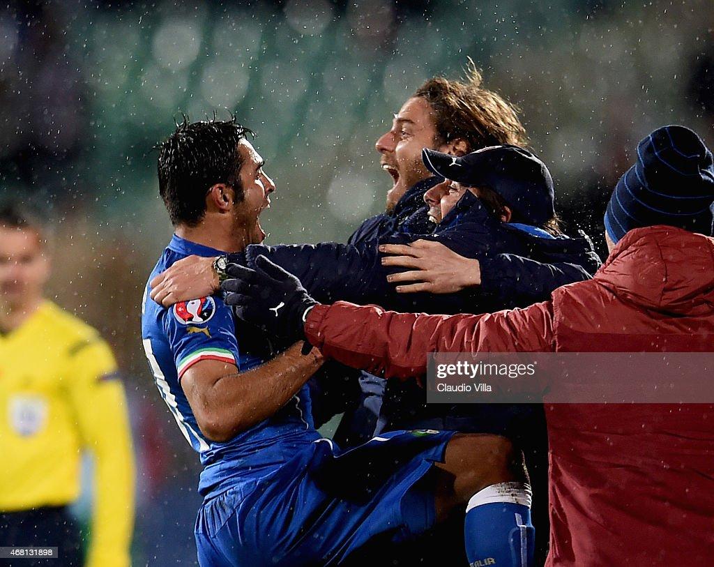 Bulgaria v Italy - EURO 2016 Qualifier : News Photo