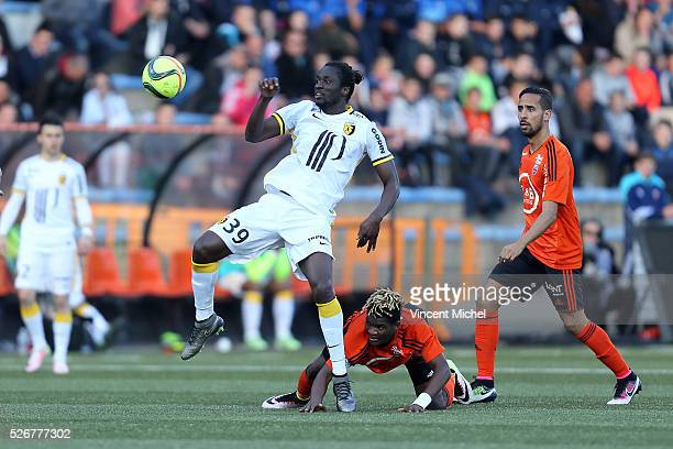 Eder of Lille during the French Ligue 1 match between Fc Lorient and Lille OSC at Stade du Moustoir on April 30, 2016 in Lorient, France.