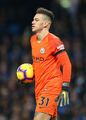 manchester england ederson manchester city during