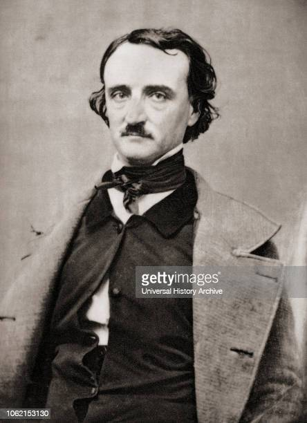 Edgar Allan Poe 1809 1849 American writer editor and literary critic After a contemporary print