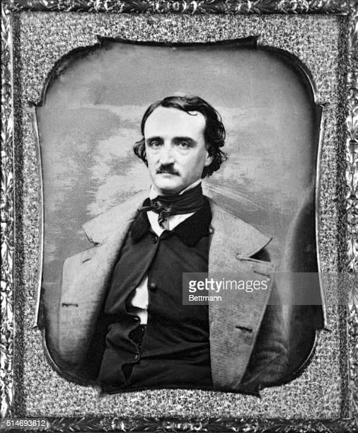 Edgar Allen Poe Presented to Sarah Helen Whitman by Poe Made in Providence Nov 14 1848 Photograph