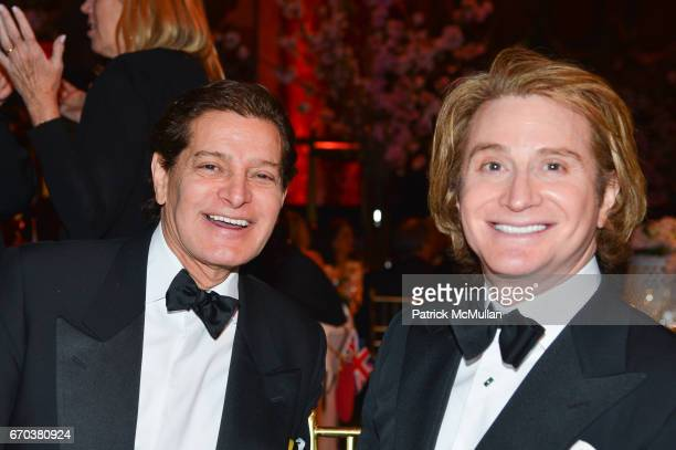 Edgar Batista and Eric Javits attend LHNH honours Geoffrey Bradfield and John Manice at Cipriani 42nd Street on April 18 2017 in New York City