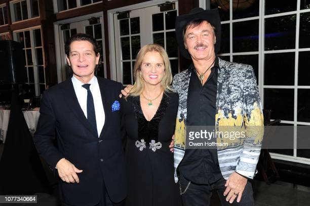 Edgar Batista Kerry Kennedy and Randy Jones attend Wells Of Life Charity Benefits At The 8th Annual Better World Awards Event Roc4Humanity at The...