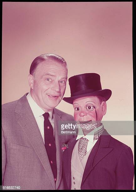 Edgar Bergen and his puppet Charlie McCarthy