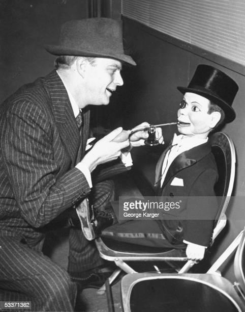 Edgar Bergen with puppet Charlie McCarthy
